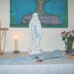2 Our Lady Procession - Altar